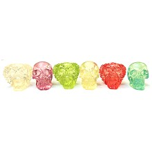 Clear Color Skull Snuffers