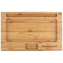 Verdant Bamboo Rolling Tray Small