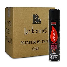 Lucienne Premium 4x Refined Butane 300mL