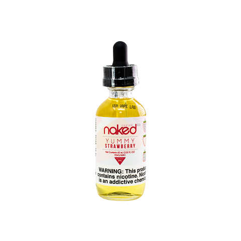 Yummy Strawberry Naked 100 E-Juice 60mL
