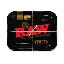 RAW Large Metal Rolling Tray 14 x 11