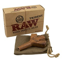 RAW Trident Wooden Holder