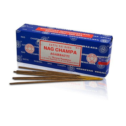 Satya Sai Baba Nag Champa Incense Sticks 15g Pack