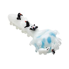 Empire Icy Penguins Spoon Pipe