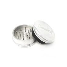 Pocket Size 2 Piece Sweetleaf Aluminum Grinder