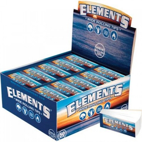 Elements Wide Roll-Up Tips (Non-Perforated) Full Box