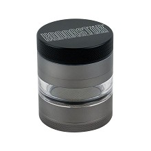 4 Part Kannastor Gunmetal Series Jar Grinder