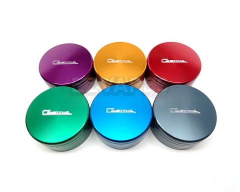 Colored Medium 2 Piece Cosmic Grinder 53mm