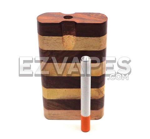 Large Striped Sheesham Wood Dugout