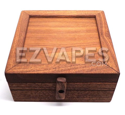 7 x 7 Walnut Exotic Zombie Sifting Box