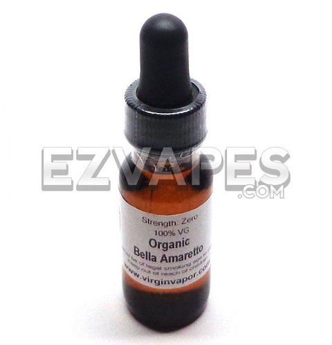 Bella Amaretto Virgin Vapor Organic E-Juice