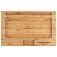 Verdant Bamboo Rolling Tray Large